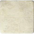 Antik Marmor 1 cm beige  10x10x1 cm getrommelt Botticino