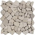 Naturstein Bruchmosaik Beige (Cream)
