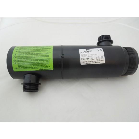 Heissner UVC-Glaskolben inkl. Kunststoffgehäuse (ET10-FA43G)