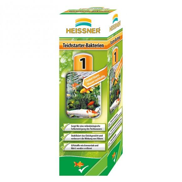 Heissner Teichstarter-Bakterien 250 ml für 20.000 Liter