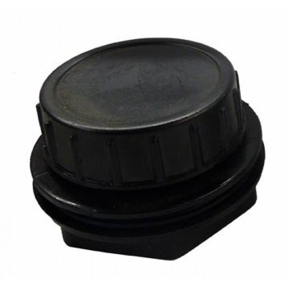Schmutzauslauf, komplett (Verschraubung mit Abschlussdeckel) Filtergehäuse  FPU7000