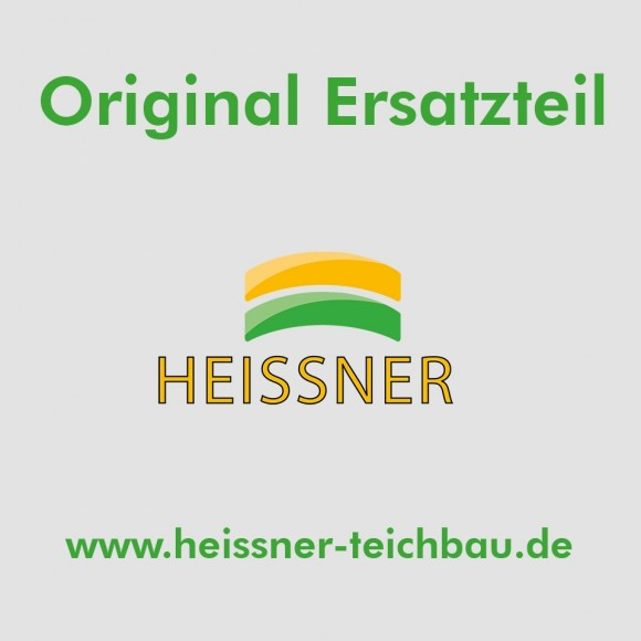Heissner Achse P4100E + P3900E/Flügelrad schwarz ab 2012 ohne Gummilager (ET10-P41EN) Original Ersatzteil