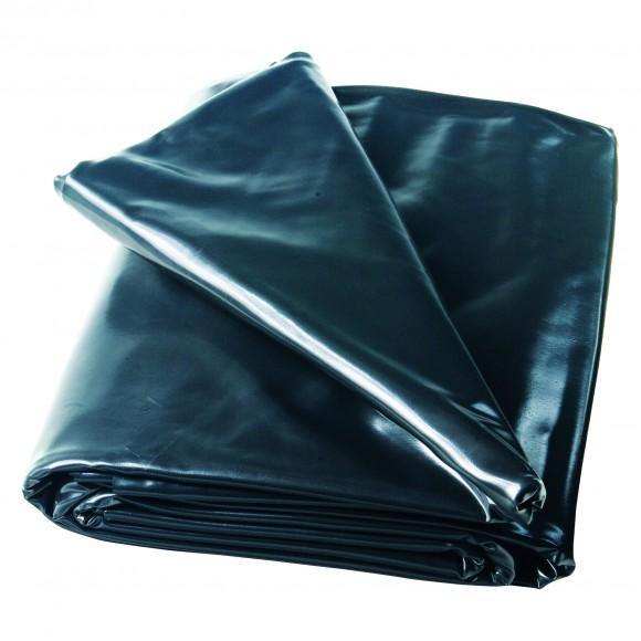 PVC-Teichfolie schwarz 1,0 mm - feste Größe