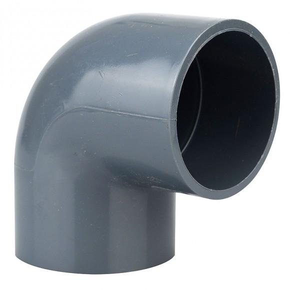 Heissner PVC Klebe-Winkel 90° Z744-00 (50 mm)