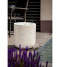 """Heissner Terrassenbrunnen-Set Villa Fontania Fountain """"Zylinder white LED"""""""