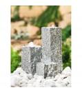 """Heissner Granit Gartenbrunnen-Set """"Neptun LED"""""""