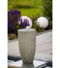 Vase grey LED
