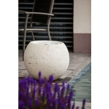 "Heissner Terrassenbrunnen-Set Villa Fontania Fountain ""Ball white LED"""
