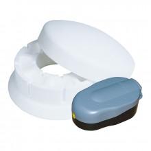 Heissner Eisfreihalter mit Senkkammer und Luftpumpe bis -15°C TZ513-00