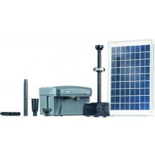 Heissner SOLAR-Pumpen-Set inkl. LED SP760-L