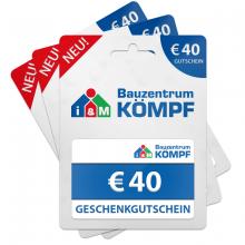 Gutschein 40 €