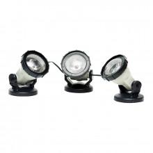 Heissner eco LED-Teich- und Gartenlicht - 3er Set (warm/weiß) U403-T
