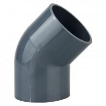 Heissner PVC Klebe-Winkel 45° Z743-00