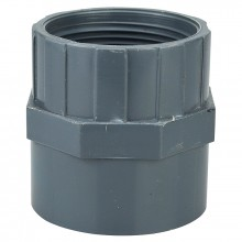 "Heissner PVC Klebe-Gewindemuffe R½"" Z748-00"