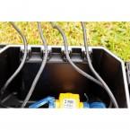 Heissner Garden Power Box: Kabelfixierung mit Zugentlastung, inkl. Dichtungen
