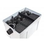Durchlauffilter-Set FPU16000-00 3-Kammer-Prinzip Biokugeln