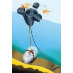 Heissner Schwimmender - Oberflächenreiniger F540-00 Illu Anwendung