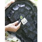Heissner Bachlaufschale sandfarben B032-00 Anbringung des Schlauchanschlusses