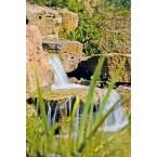 Heissner Wasserfallstufe Sandfarben B030-00 Stibi Wasserfall für einen naturgetreuen Bachlauf