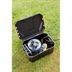 Heissner Garden Power Box: Ausreichend Platz für Kabel und Stecker