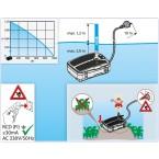 SMARTLINE All-in-One Unterwasserfilter-Set FA1000UV-00 Förderhöhe