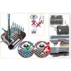SMARTLINE All-in-One Unterwasserfilter-Set FA1000UV-00 Querschnitt