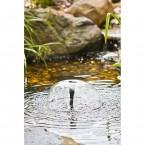 Heissner SMARTLINE OUTDOOR Springbrunnen-Pumpen-Set HSP600-00 Wasserspiel Glocke