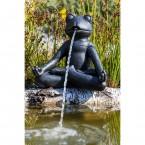 """Heissner Teichspeier """"Yoga-Frosch"""" klein 003296-00"""
