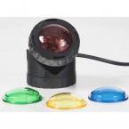 Heissner SMARTLINE Unterwasser LED-Spot U120-T austauschbare Farbscheiben