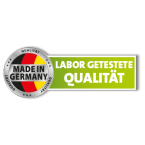 Labor getestete Qualität Made in Germany