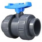 Heissner PVC Klebe-Klebekugelhahn Z747-00 (50 mm)