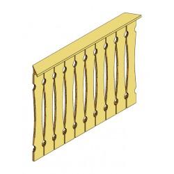 Skan Holz Brüstung Balkonschalung für Pavillon Versailles