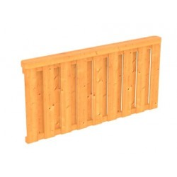Skan Holz Brüstung Deckelschalung für Terrassenüberdachung Douglasie