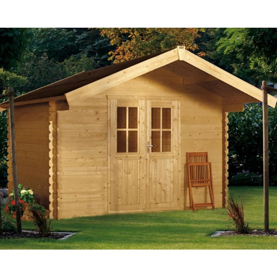 skan holz 28 mm gartenhaus faro skanholz. Black Bedroom Furniture Sets. Home Design Ideas