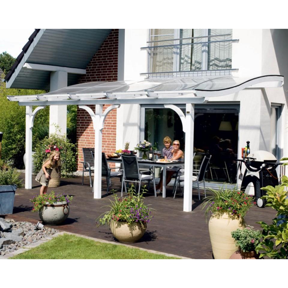 skan holz terrassen berdachung venezia 434cm skanholz. Black Bedroom Furniture Sets. Home Design Ideas