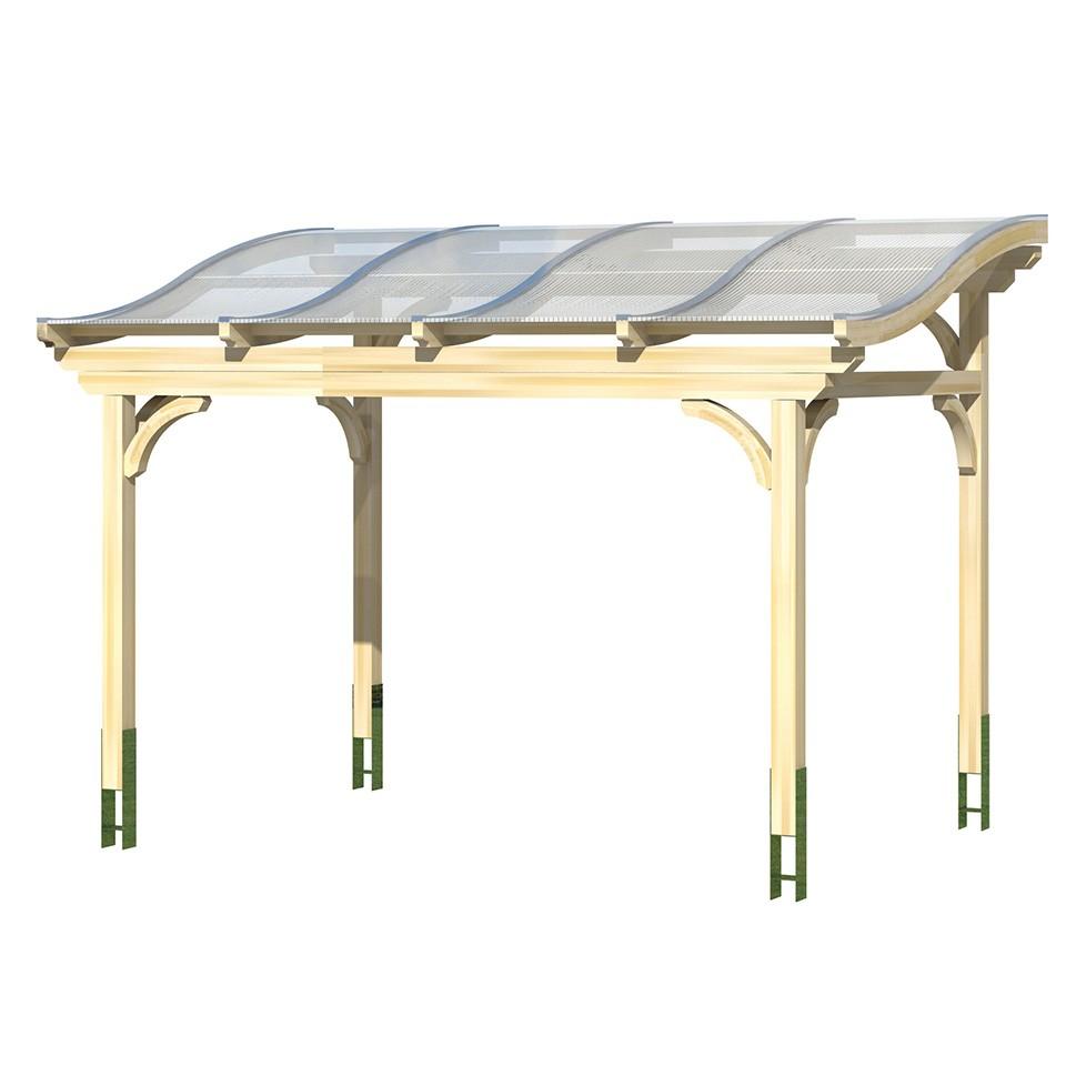 skan holz terrassen berdachung florenz mit geschwungenen sparren breite 434 cm mein. Black Bedroom Furniture Sets. Home Design Ideas