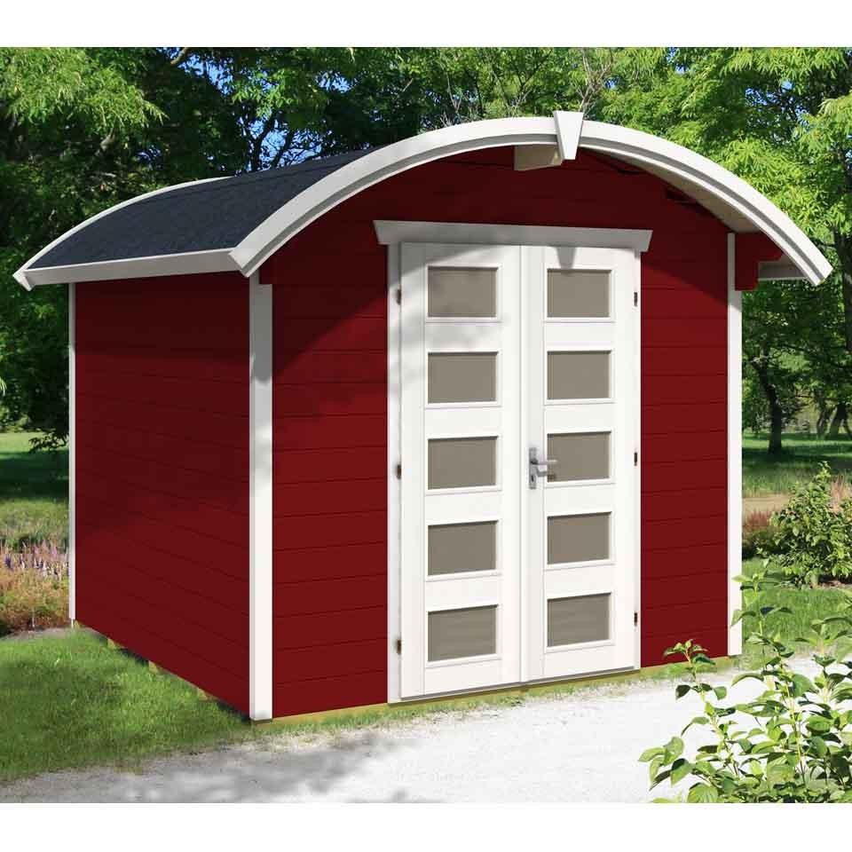 skan holz 28 mm gartenhaus blockbohlenhaus delft mein. Black Bedroom Furniture Sets. Home Design Ideas