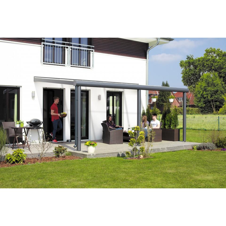 skan holz aluminium terrassen berdachung monza breite 648 cm skanholz. Black Bedroom Furniture Sets. Home Design Ideas