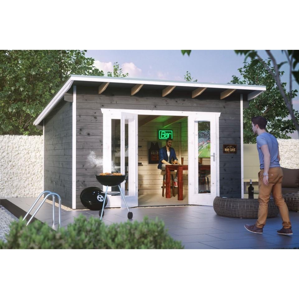 skan holz 28 mm gartenhaus ostende 2 skanholz. Black Bedroom Furniture Sets. Home Design Ideas