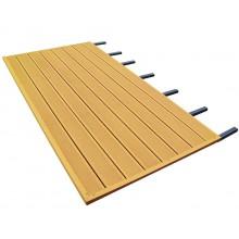 Skan Holz WPC Fußboden passend zu Terrassenüberdachungen