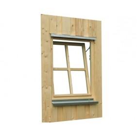 Skan Holz Einzelfenster für Carports