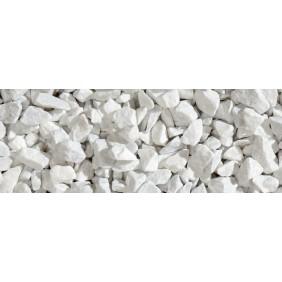 Granulati Ziersteine/Zierkies für Gartenhaus Umrandung weiß