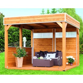 Skan Holz Pavillon Laube Toulouse