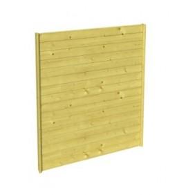 Skan Holz Seitenwand für Carports - Profilschalung