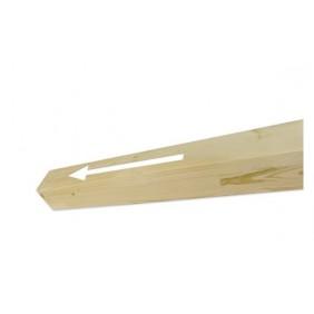 Skan Holz Pfostenverlängerung für Carports 9 x 9 cm