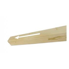 Skan Holz Pfostenverlängerung für Carports 11,5 x 11,5 cm