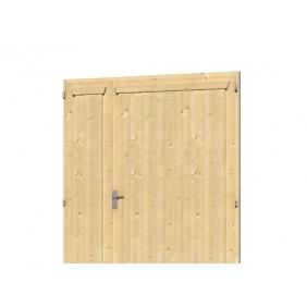 Skan Holz Doppeltür für Carports