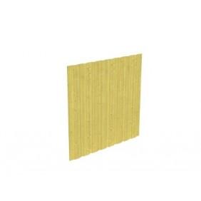 Skan Holz Rückwand für Carports für Durchfahrt bis 355 cm Breite - Deckelschalung