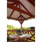 Skan Holz Pavillon Orleans-Innenansicht