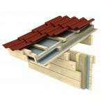 Basisdach mit zweiter Dachschalung